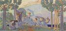Ludwig von Hofmann - Tanzende mit Schleier