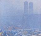Palmié, Charles Johann - Nebeliger Wintertag in München