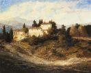 Otto Eduard Pippel - Sommerliche Landschaft in der Toscana