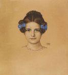 Franz von Stuck - Bildnis der Tochter Mary