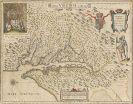 Amerika - 1 Bl. Nova Virginiae tabula (W. J. Blaeu).