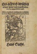 Hans Sachs - Ein gesprech, 1555.