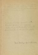 Ludwig Wittgenstein - Hänsel, L., Wertgefühl u. Wert. Eigh. Korrekturexemplar von Wittgenstein. 1949