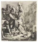 Harmensz. Rembrandt van Rijn - Die Steinigung des heiligen Stephanus