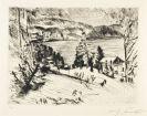 Lovis Corinth - Gebirgsee (Walchensee im Winter)