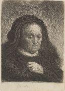 Harmensz. Rembrandt van Rijn - Rembrandts Mutter