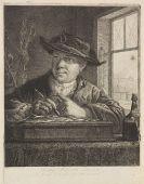 Georg Friedrich Schmidt - 17 Bll. Porträts und Figürliches