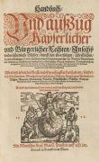 Konstantinos Harmenopoulos - Handbuch und außzug Kayserlicher und Bürgerlicher Rechten