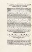 Aristoteles - Opera, 3 Tle. in 1 Bd. Basel 1548.