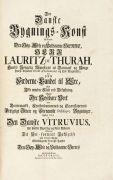 Laurids de Thurah - Den danske Vitruvius, 1749-50