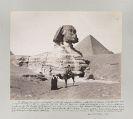 - Reise-Erinnerung an Egypten. Slg. von Fotografien.