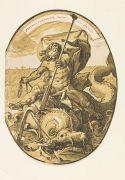 Hendrick Goltzius - 15 Bll. Sammlung Portraits, Antike Gottheiten und Helden.
