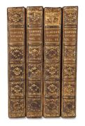 William Dampier - A collection of voyages. 4 Bde.