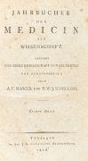 Friedrich Wilhelm Schelling - Jahrbücher der Medicin, 3 Bde.