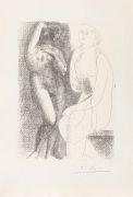Pablo Picasso - Suite Vollard. Dabei: Carnet de la Californie