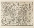 Asien - 2 Bll. Asiae nova (Ortelius, 2. Fassung) und Persia (Blaeu).