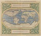 Weltkarte - 3 Bll. General Tafel ... Erdtrichs / Die newen Inseln / Typus Orbis (Münster).