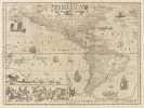 Amerika - 1 Bl. America (Jod. Hondius).