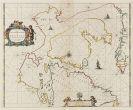 Kanada - 1 Bl. Paskaert zynde de Noordelijckste Zeekusten van America (Goos).