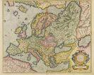 Europa - 2 Bll. Europa (Mercator und Ortelius).