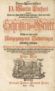 Martin Luther - Sämtliche Schriften und Werke. 22 Bde in 11.