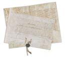 - 4 Urkunden tlw. auf Permant (darunter 2 Papstbullen Clemens VIII., Clemens XII.).