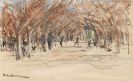 Max Liebermann - Promenade in Cannes