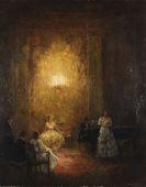 Pippel, Otto - Musizierende Abendgesellschaft