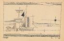 Lyonel Feininger - Großes Segelschiff an der Mole