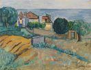Werner Gilles - Südliche Landschaft