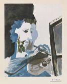 Picasso, Pablo - Le Peintre