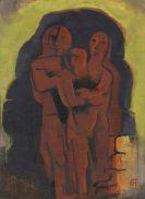 Karl Hofer - Drei Maskenfiguren