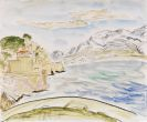 Erich Heckel - Graue Felsen (Marseille)