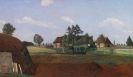 Otto Modersohn - Sommertag im Moor (Erdhütte im Moor)