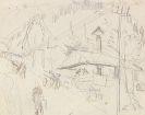 Ernst Ludwig Kirchner - Sägemühle im Taunus