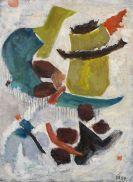 Gabriele Münter - Mit blauem Bogen