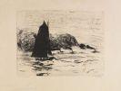 Emil Nolde - Segler und drei kleine Dampfer