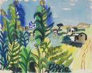 Eduard Bargheer - Italienische Landschaft