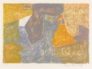 Serge Poliakoff - Composition jaune, rouge et grise