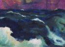 Emil Nolde - Hohe See unter violettem Himmel