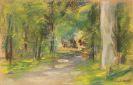Max Liebermann - Weg im Wald