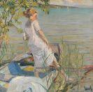 Cucuel, Edward - Sommermorgen am Starnberger See
