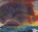 Emil Nolde - Abendwolken am Meer