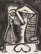 Picasso, Pablo - Figure composée II