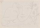 Pablo Picasso - Visage de la Paix III