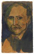 Emil Nolde - Selbstporträt
