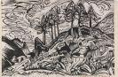 Ernst Ludwig Kirchner - Bäume am Berghang