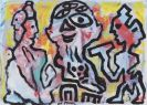 A. R. Penck (d.i. Ralf Winkler) - Plato, Sokrates und Aristoteles 3