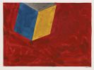 Sol LeWitt - Cube on Red