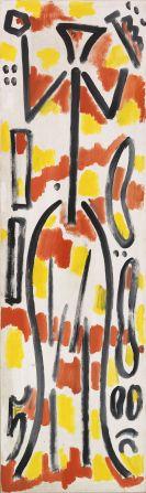 A. R. Penck (d.i. Ralf Winkler) - Projekt Germania (Konzept G)